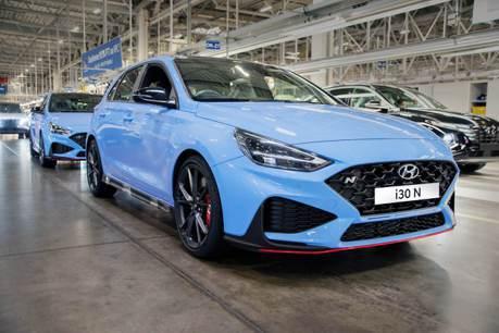 不只六速手排可選的性能車 小改款Hyundai i30 N捷克正式投產!
