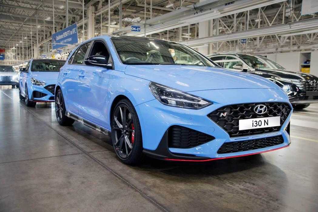小改款i30 N近期已在Hyundai位於捷克的Nošovice工廠進行投產。 ...