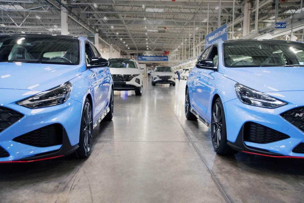 小改款Hyundai i30 N近期於捷克廠正式投產。 摘自Hyundai