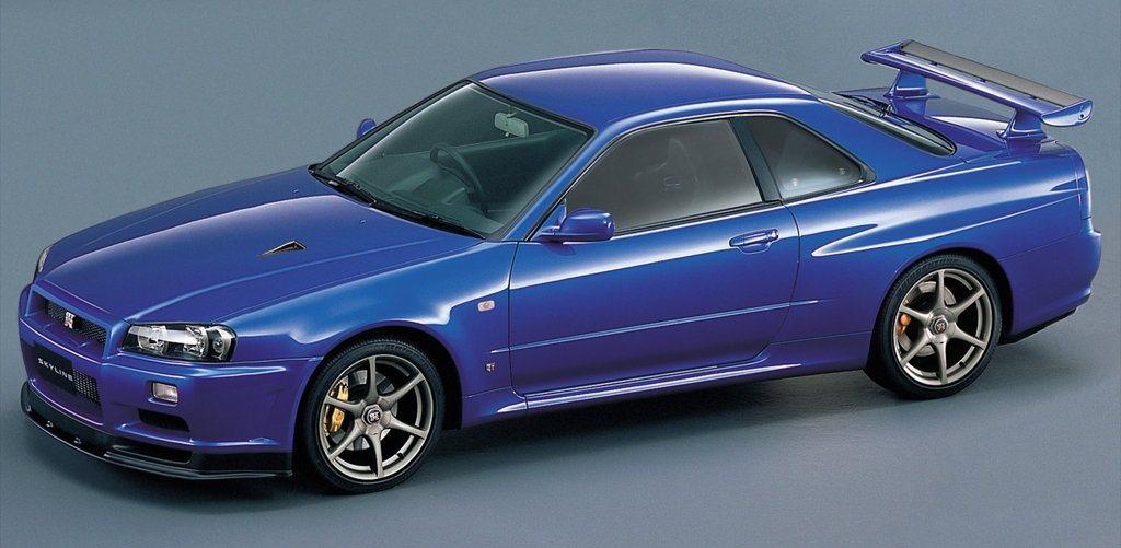 Nissan Skyline GT-R。 摘自Nissan