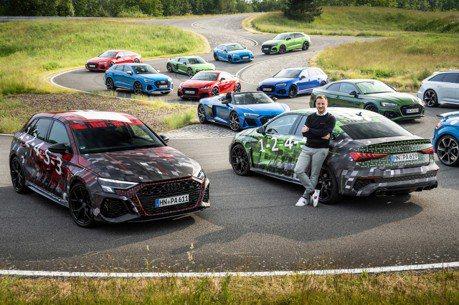 影/全新Audi RS3原廠偽裝露出 就快亮相的雙車型400匹馬力!