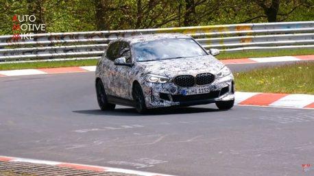 影/全新BMW M140i紐柏林現身 準備好正面迎戰Mercedes-AMG A45了嗎?
