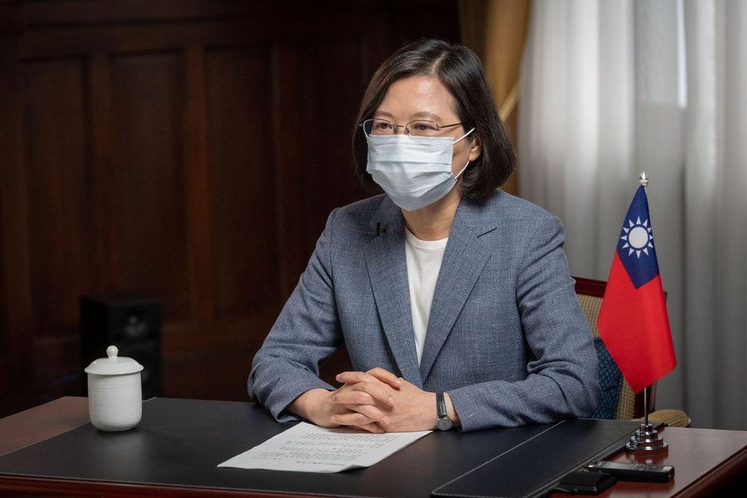 總統蔡英文(總統府提供)中央社