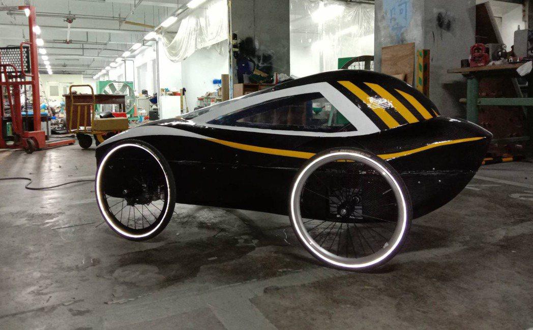 大葉大學機械系RIMITTO SHO車隊獲環保節能車大賽優等。 大葉大學/提供。