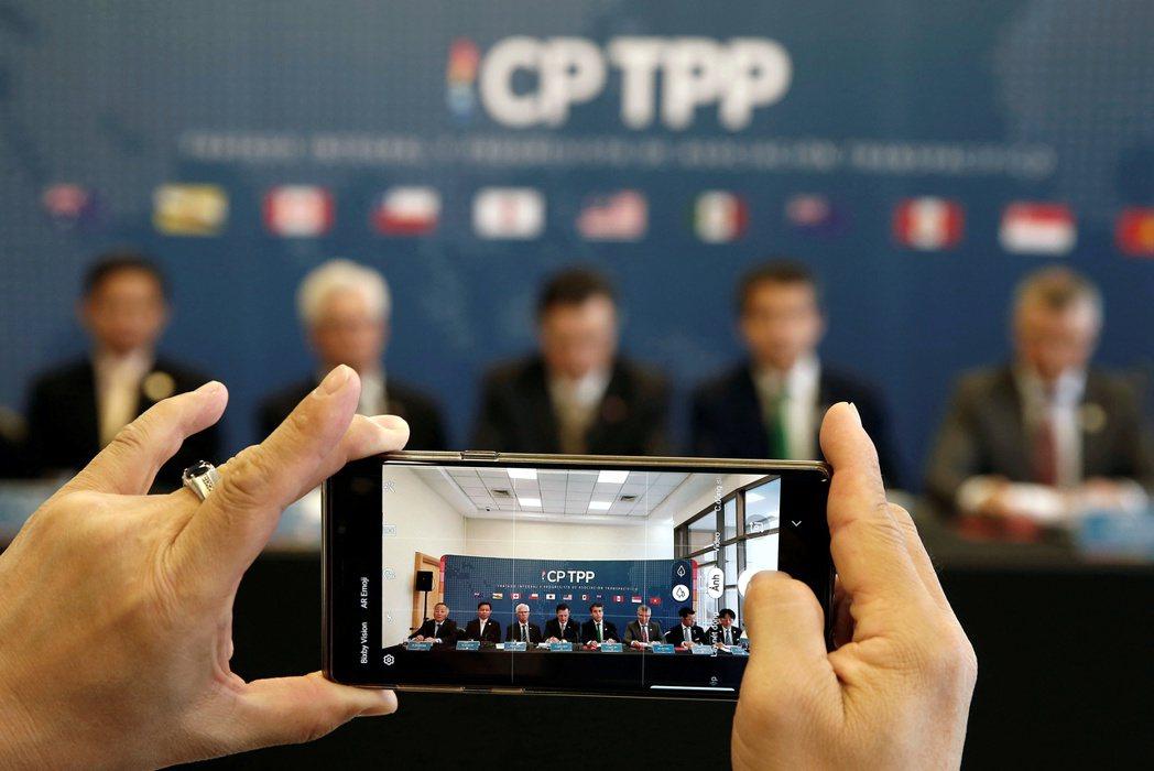 英國視加入CPTPP為脫歐後開闢市場的重頭戲。路透