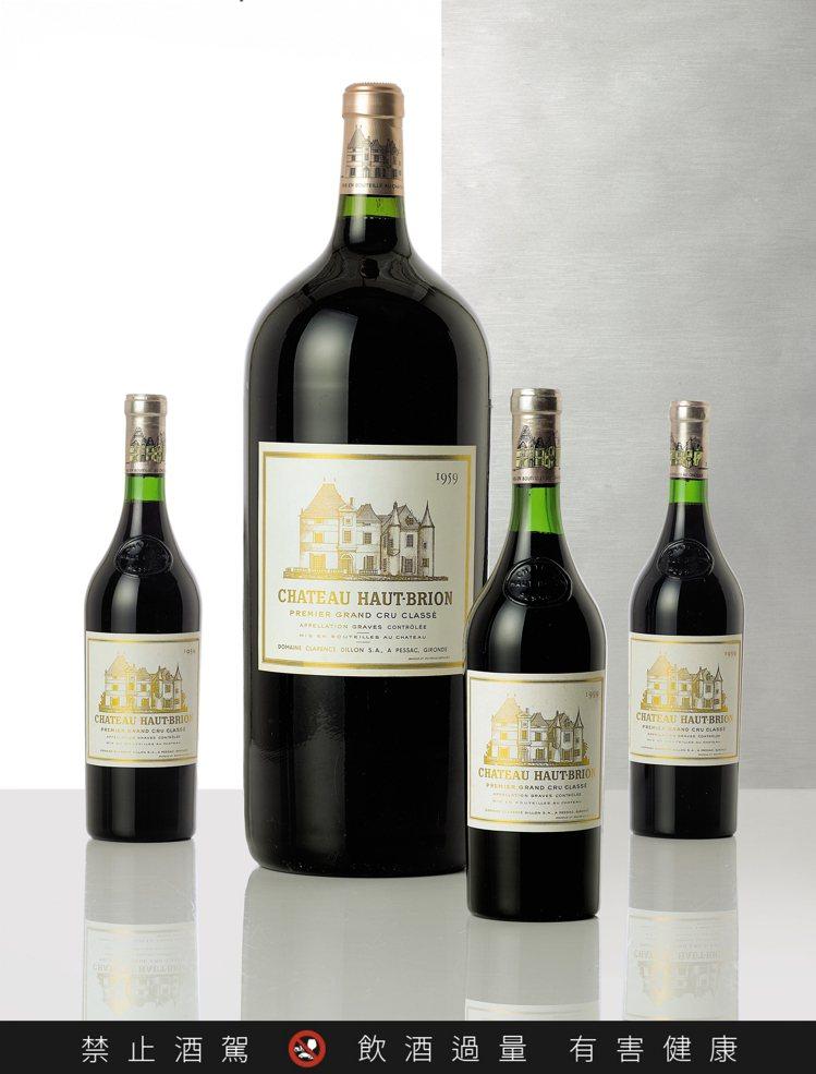 侯伯王1959年,單瓶6公升裝,估價24萬港元起。圖/蘇富比提供