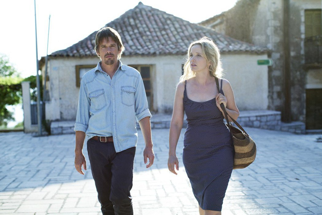 「愛在午夜希臘時」伊森霍克、茱莉蝶兒是完美情侶代表。圖/采昌提供