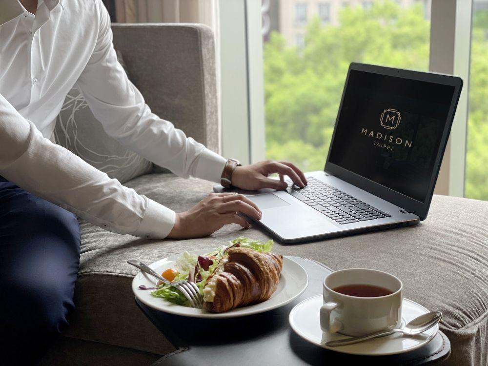 因應疫情多數企業調整為異地辦公或居家上班,全台和逸、慕軒飯店即日起推出「行動辦公...