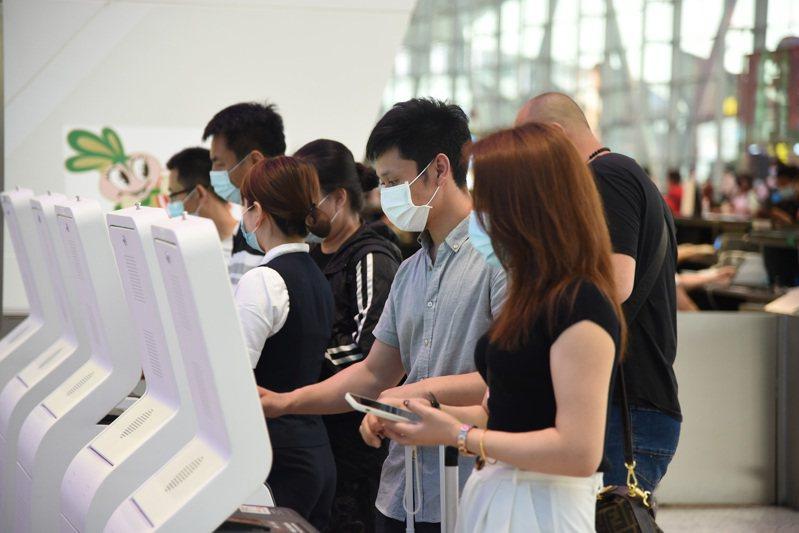 廣州白雲機場。新華社