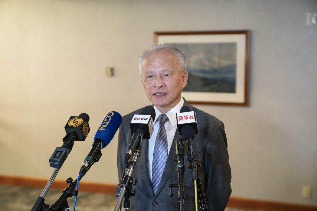 中國駐美大使崔天凱即將離任。新華社