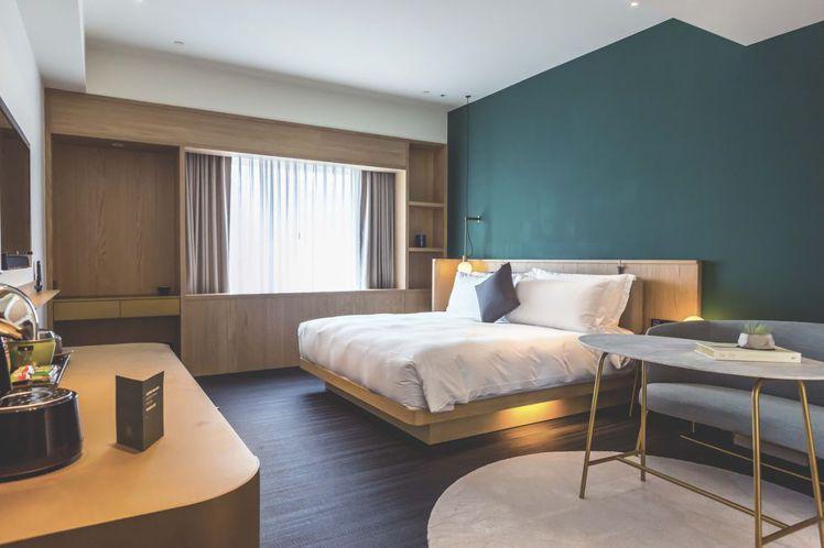 台北金普頓大安酒店為可帶寵物入住的酒店。圖/台北金普頓大安酒店提供