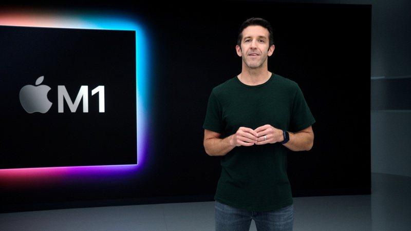 去年蘋果推出的電腦開始使用自家研發的M1晶片,由台積電代工。路透