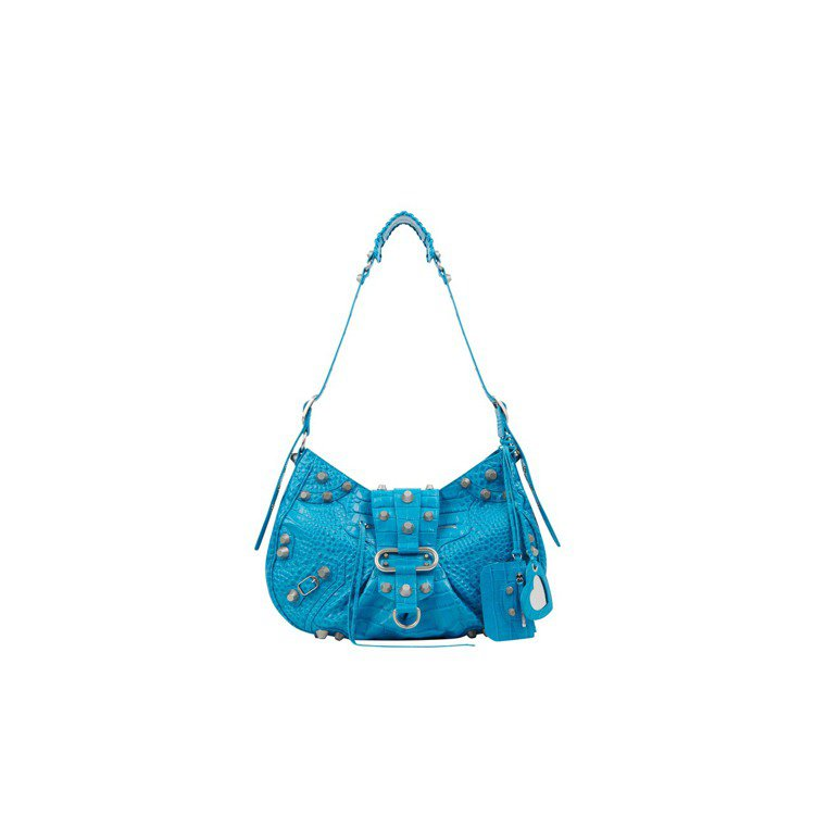 土耳其藍Le Cagole包,價格未定。圖/BALENCIAGA提供
