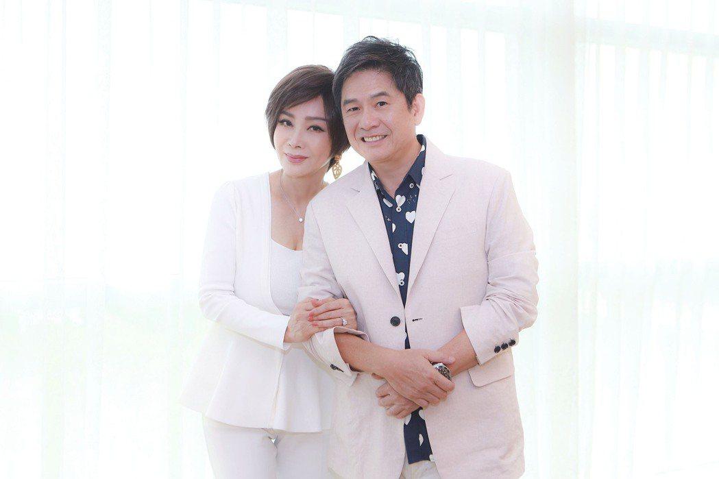 陳美鳳、洪都拉斯在「黃金歲月」中將有感情戲。圖/民視提供