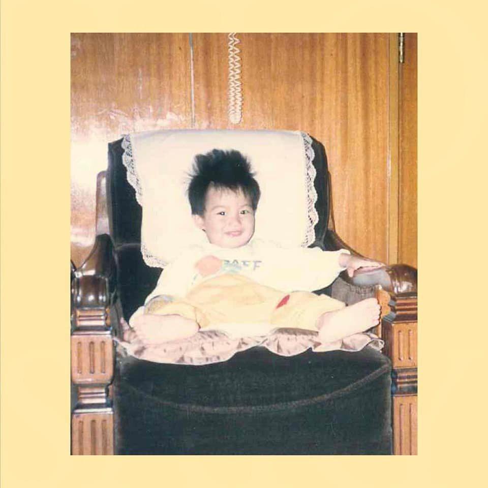 李敏鎬的經紀公司曬出他童年舊照,為他慶生。圖/摘自IG