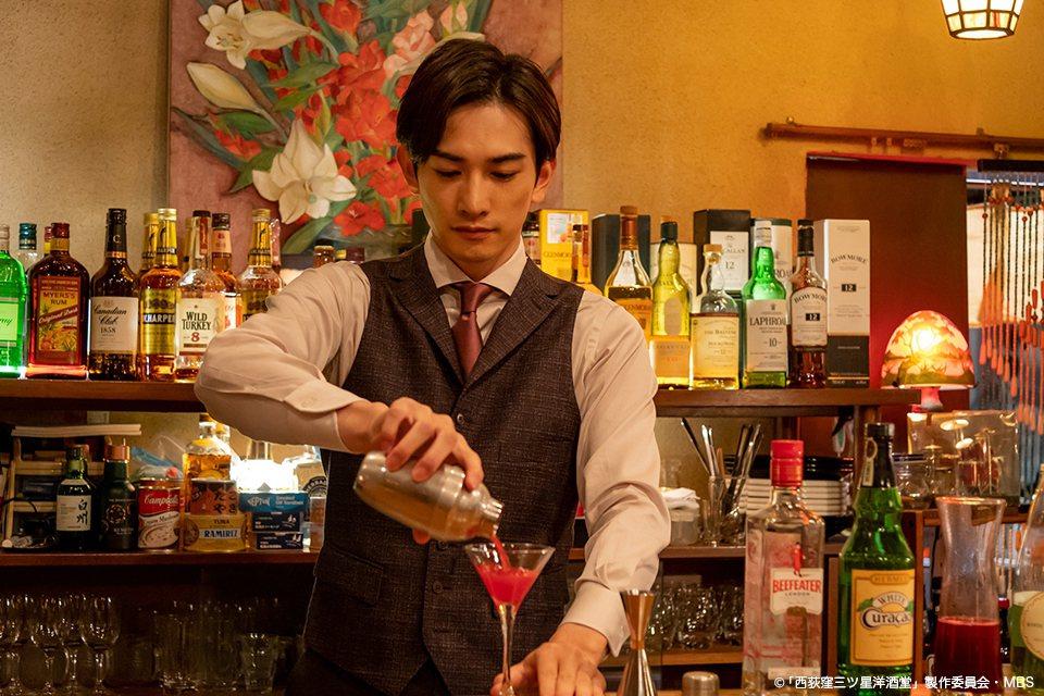 町田啓太演出「西荻窪 三星洋酒堂」。圖/friDay影音提供