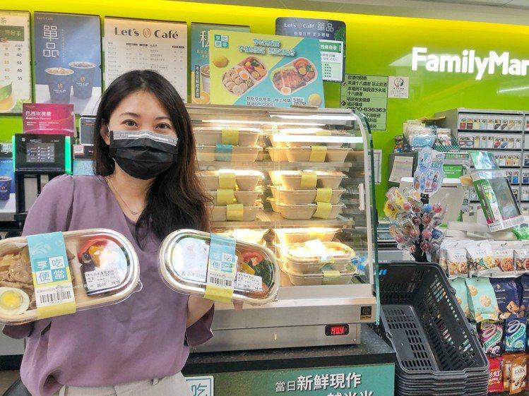 「全家國際餐飲」以雲端廚房概念推出的「享吃便當」系列主打健康系,另類結合bb.q...
