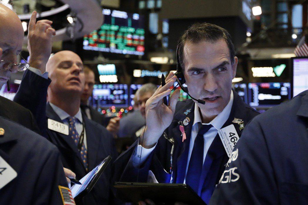 美股22日早盤在平盤附近狹幅波動。美聯社