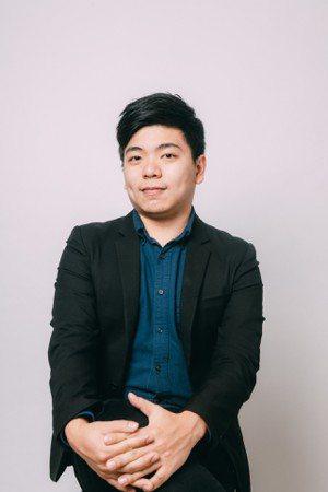 第五屆創業之星選秀大賽公司組冠軍配客嘉執行長葉德偉。配客嘉/提供