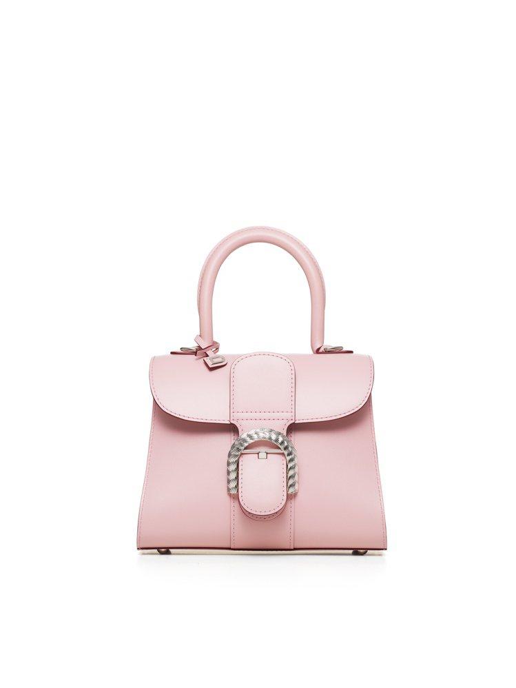 DELVAUX永恆玫瑰系列Brillant小牛皮迷你手袋,17萬2,300元。圖...