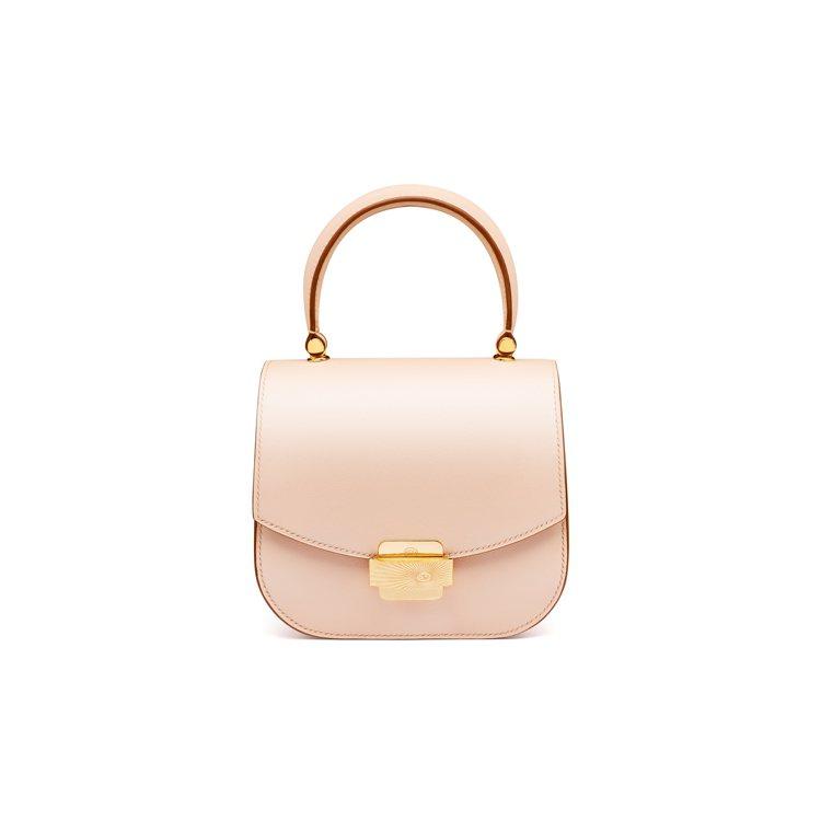 SAUVEREIGN Aphrodite玫瑰粉色小牛皮革包款,14萬9,800元...