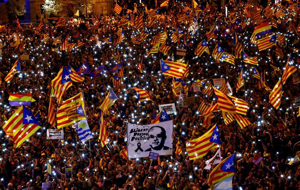 在2019年的判決中,西班牙最高法院雖發出了如此嚴厲的判詞,但加泰隆尼亞的獨派聲...