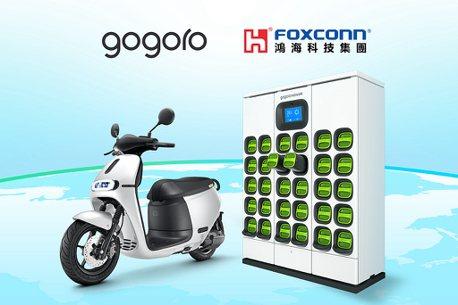鴻海宣布與Gogoro策略聯盟!於電池交換系統、車輛工程與生產製造展開多項合作