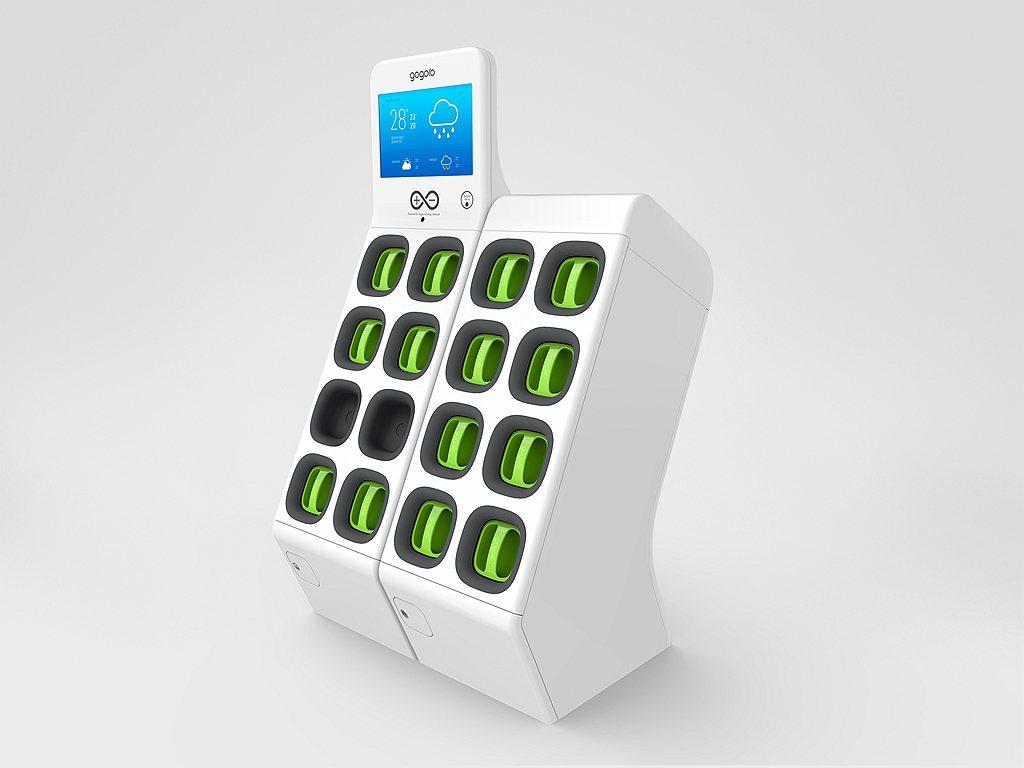 Gogoro在開發緊湊的電動動力、智慧電池設計、電池交換,利用人工智慧電池管理安...