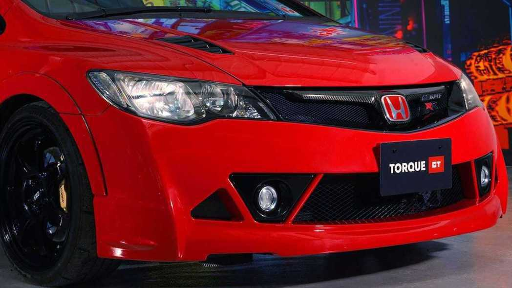 Civic Type R Mugen RR大包。 摘自Torque GT