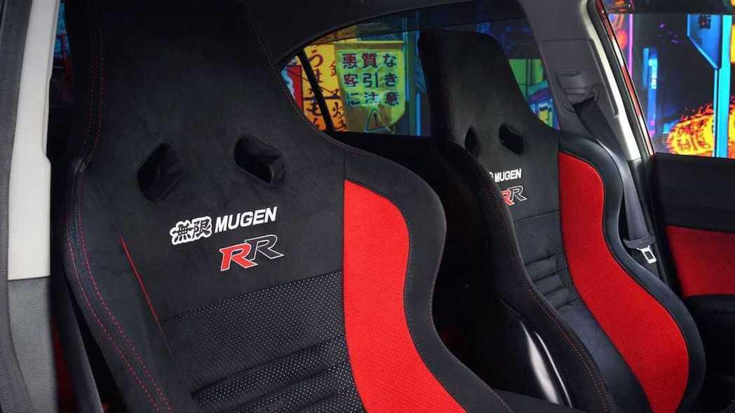 Mugen RR專屬Recaro SP-X賽車椅。 摘自Torque GT