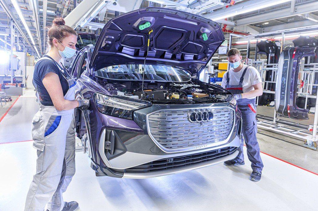 Audi計畫在2033年起停止內燃機車款的生產。 摘自Audi