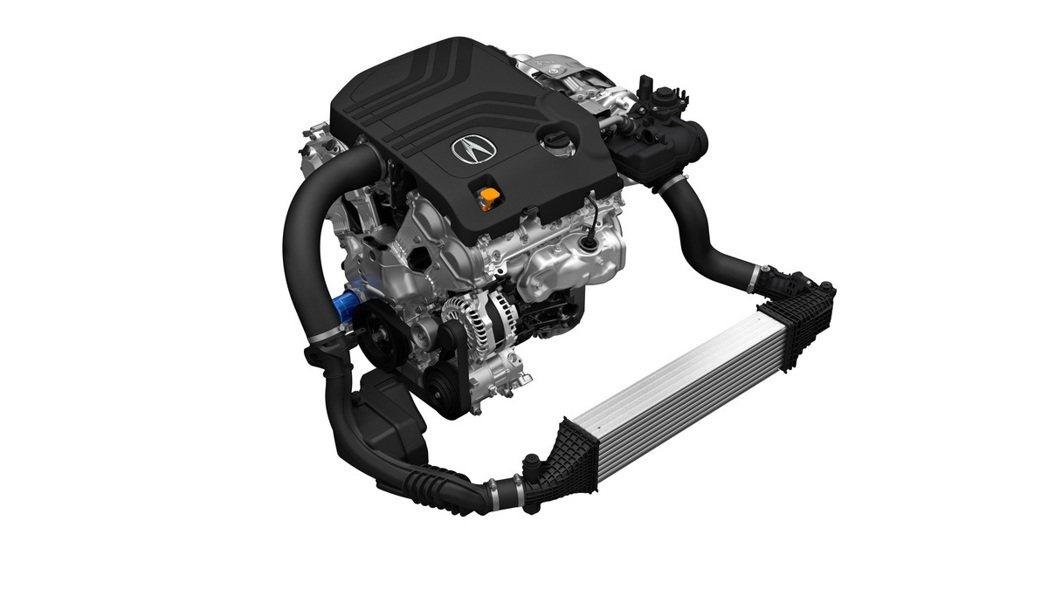 這具3.0升V6引擎有許多技術是從NSX的引擎上下放而來。 摘自Acura
