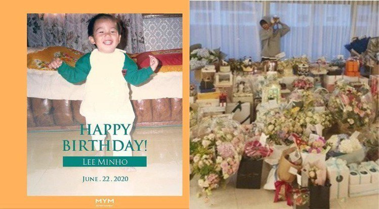 2020年李敏鎬生日發文時附的照片。圖/擷自instagram