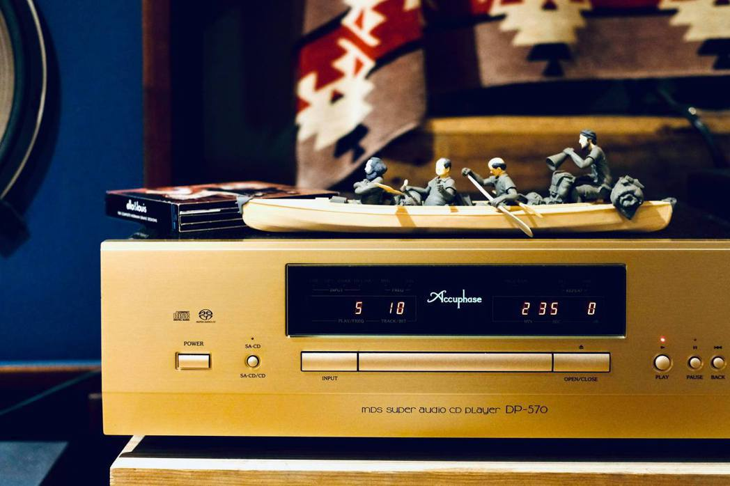 有日本國寶之稱的Accuphase CD播放器。 圖/王耀邦提供