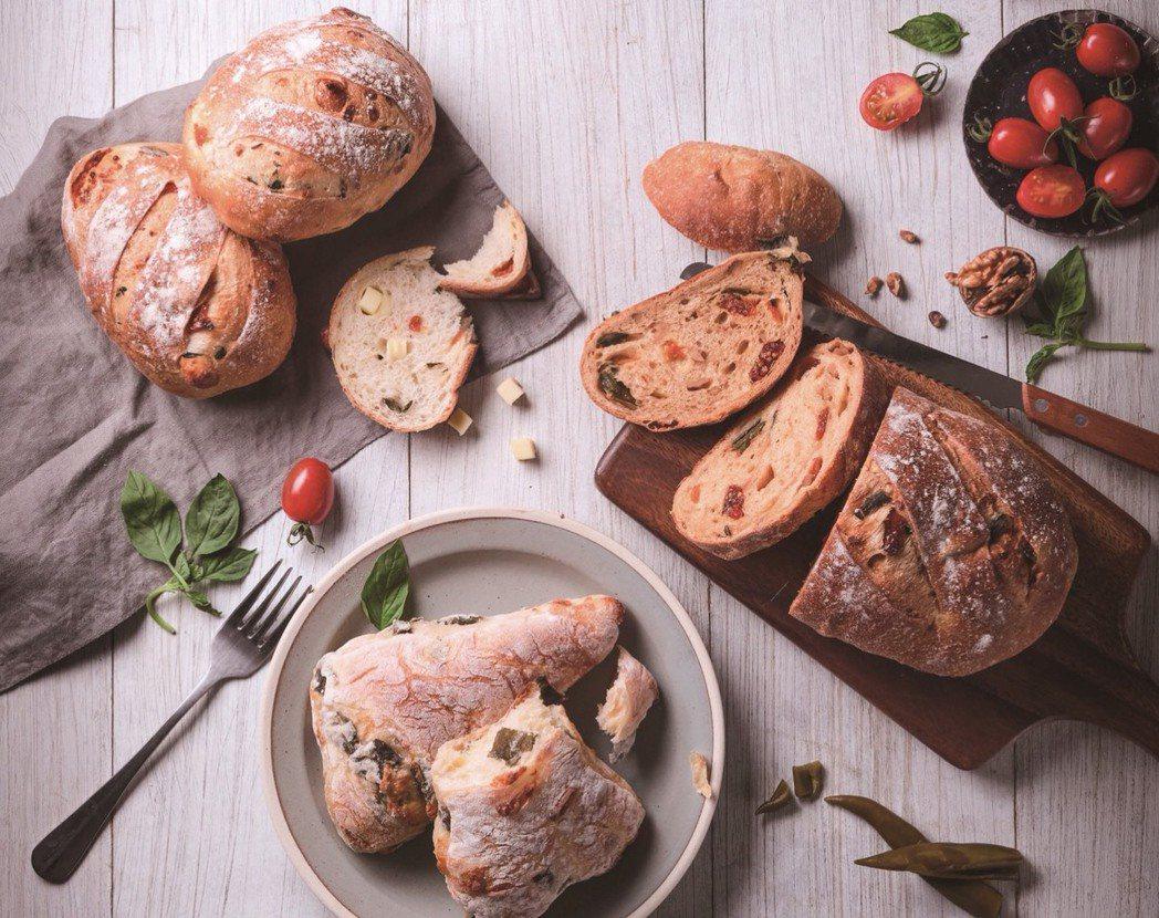 聯華製粉X樂田麵包 歐滋味台灣味歐式麵包 全新上市