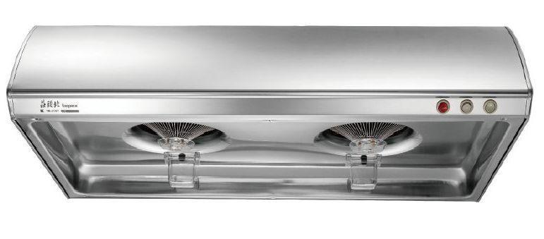 莊頭北TR-5197 Turbo增壓單層式排油煙機。 莊頭北/提供