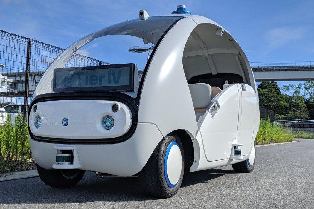 日本自駕車新創業者Tier IV。圖/Tier IV官網