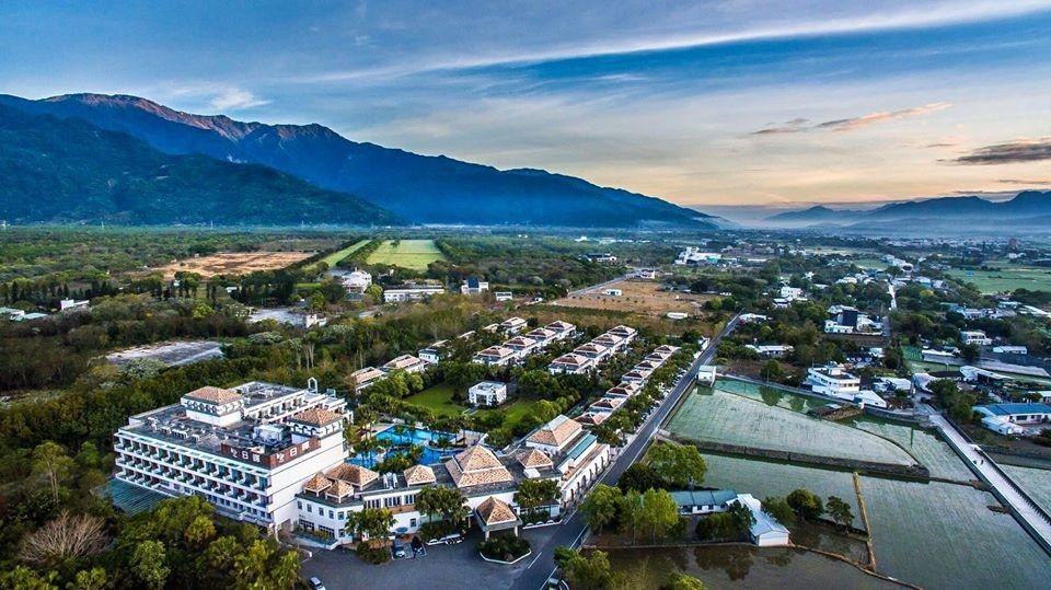 日暉國際渡假村連續兩年獲選全台最美五星飯店第一名。 業者/提供。