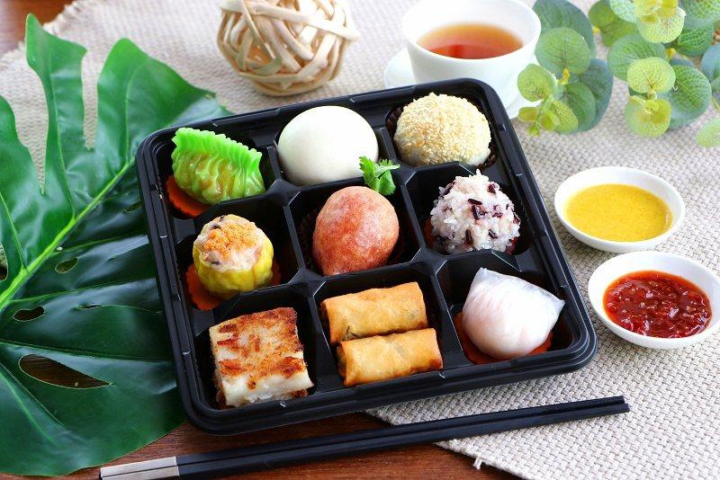 台北老爺「元氣健康餐盒」。 業者/提供