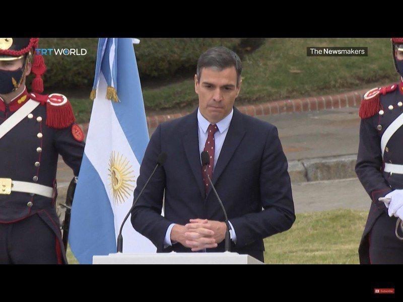 西班牙首相桑多士宣布特赦加泰隆尼亞獨立領袖,但可能達不到預期的和解效果。(photo by 影片截圖)
