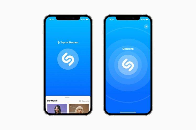 透過iPhone控制中心可快速啟動「Shazam」音樂辨識功能,找出正在聽的曲目...