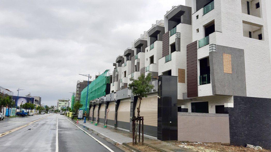 嘉義市近3年不少新透天別墅價格不斷拉高。東森房屋研究中心提供