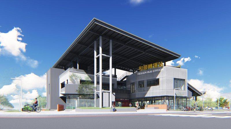 台南市政府在歷史博物館及亞太棒球訓練中心特區規畫興建的「和順轉運站」,今舉行動土儀式,預計2023年完工。圖/台南市交通局提供