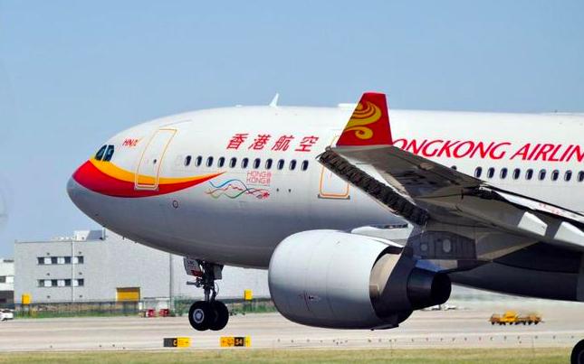 香港航空傳出60%的人將被裁員或減薪。最快今(23)日將發布裁員通知。照片/網易...