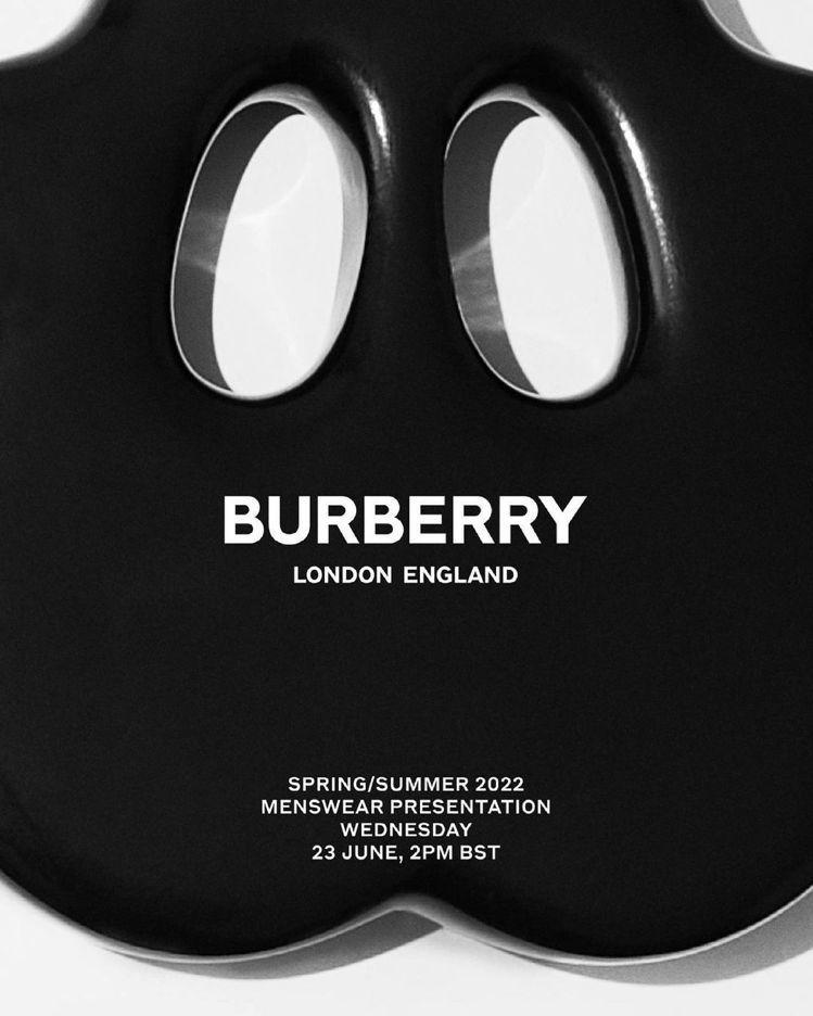 BURBERRY 2022春夏男裝將於台灣時間今晚9點直播。圖/BURBERRY...