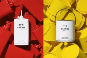 優雅奢華並存的工業風!香奈兒5號工場限定系列,油漆罐、水彩條創新包裝想入手