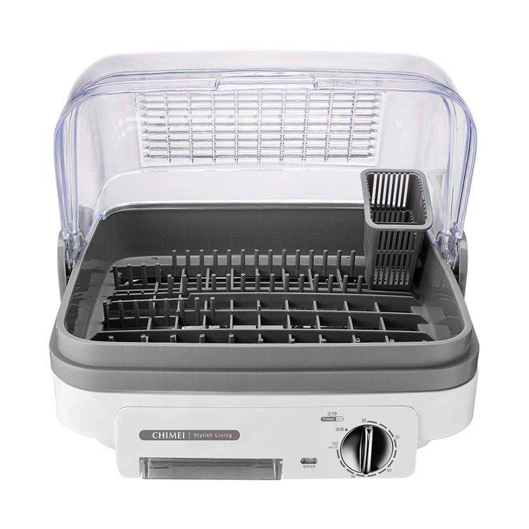 奇美抗菌烘碗機以Ag+銀離子與沸石抗菌原理加持,抗菌、防霉、除臭一機搞定。圖/奇...