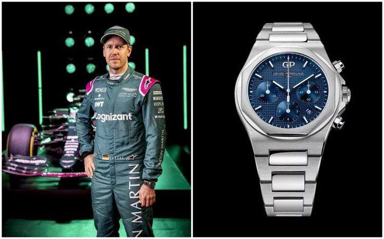 二月宣布與一級方程式Aston Martin車隊合作的芝柏(Girard Per...