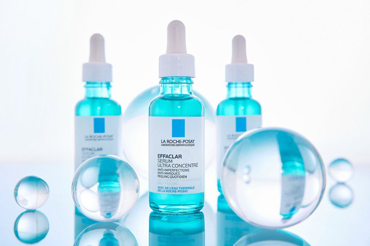 理膚寶水極效三重酸煥膚精華/30ml/1,580元。圖/理膚寶水提供
