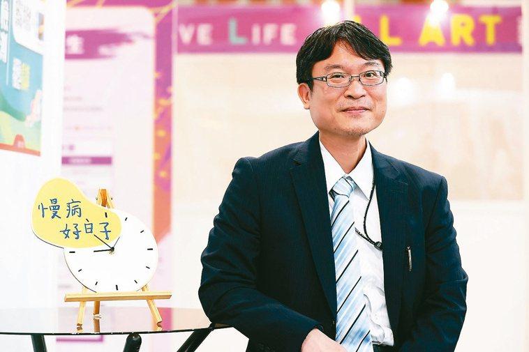 台北榮總高齡醫學中心主治醫師陳亮宇。記者葉信菉/攝影